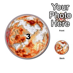 Planets By Bryan Corbett   Multi Purpose Cards (round)   A4pv9v4i9lx6   Www Artscow Com Front 3