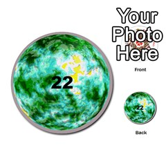 Planets By Bryan Corbett   Multi Purpose Cards (round)   A4pv9v4i9lx6   Www Artscow Com Front 22