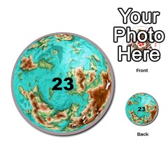 Planets By Bryan Corbett   Multi Purpose Cards (round)   A4pv9v4i9lx6   Www Artscow Com Front 23