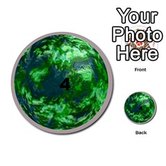 Planets By Bryan Corbett   Multi Purpose Cards (round)   A4pv9v4i9lx6   Www Artscow Com Front 4