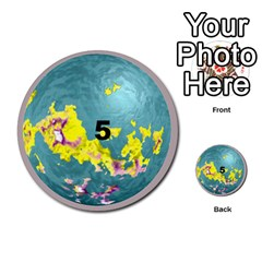 Planets By Bryan Corbett   Multi Purpose Cards (round)   A4pv9v4i9lx6   Www Artscow Com Front 5
