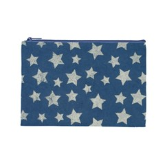 Stars L Cosmetic Bag By Joy   Cosmetic Bag (large)   5plb3gvsiaq8   Www Artscow Com Front