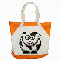 Cow Accent Tote Bag by cutepetshop