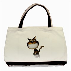 Funny Cat Classic Tote Bag by cutepetshop