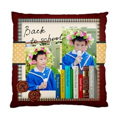 Graduation, School Life By School   Standard Cushion Case (two Sides)   W12mqy5sasqj   Www Artscow Com Front