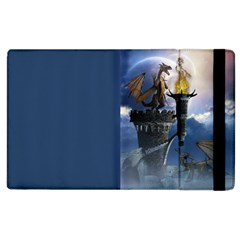 Dragon Land 2 Apple Ipad 2 Flip Case by gatterwe
