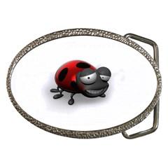 Lady Bird Belt Buckle (oval) by cutepetshop