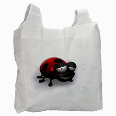 Lady Bird Recycle Bag (two Sides) by cutepetshop
