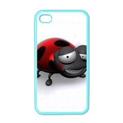 Lady Bird Apple iPhone 4 Case (Color) by cutepetshop