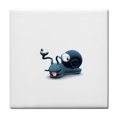 Funny Snail Face Towel by cutepetshop