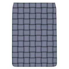 Cool Gray Weave Removable Flap Cover (large) by BestCustomGiftsForYou