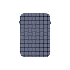 Cool Gray Weave Apple Ipad Mini Protective Soft Case by BestCustomGiftsForYou