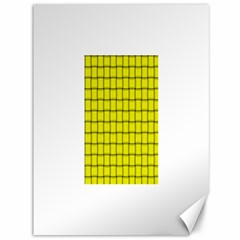Yellow Weave Canvas 36  X 48  (unframed) by BestCustomGiftsForYou