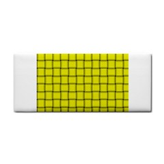 Yellow Weave Hand Towel by BestCustomGiftsForYou