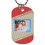 4TH OF JULY TAG  - Dog Tag (Two Sides)