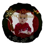 christmas - Large 18  Premium Round Cushion