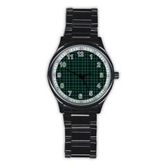 Lamont Tartan Sport Metal Watch (black) by BestCustomGiftsForYou