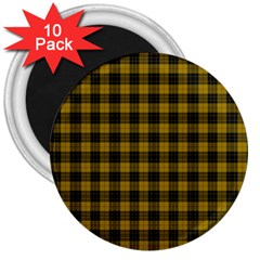 Macleod Tartan 3  Button Magnet (10 Pack) by BestCustomGiftsForYou