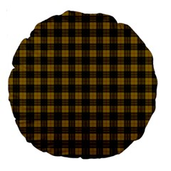 Macleod Tartan 18  Premium Round Cushion  by BestCustomGiftsForYou