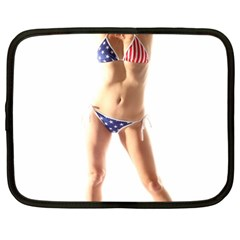 Usa Girl Netbook Case (xxl) by hlehnerer