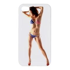 Usa Girl Apple iPhone 4/4S Hardshell Case