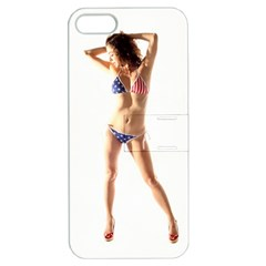 Usa Girl Apple Iphone 5 Hardshell Case With Stand by hlehnerer