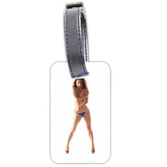 Usa Girl Luggage Tag (two Sides) by hlehnerer