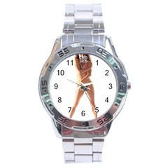 Usa Girl Stainless Steel Watch (men s) by hlehnerer