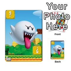 Super Mario Planning Poker Cards By Pek   Multi Purpose Cards (rectangle)   Zvte3pgqtvao   Www Artscow Com Front 52
