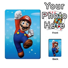 Super Mario Planning Poker Cards By Pek   Multi Purpose Cards (rectangle)   Zvte3pgqtvao   Www Artscow Com Front 53