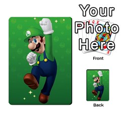Super Mario Planning Poker Cards By Pek   Multi Purpose Cards (rectangle)   Zvte3pgqtvao   Www Artscow Com Front 54