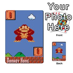 Super Mario Planning Poker Cards By Pek   Multi Purpose Cards (rectangle)   Zvte3pgqtvao   Www Artscow Com Front 7