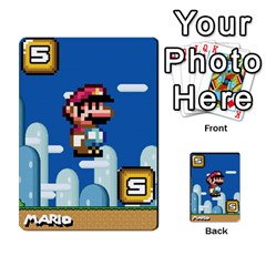 Super Mario Planning Poker Cards By Pek   Multi Purpose Cards (rectangle)   Zvte3pgqtvao   Www Artscow Com Front 19