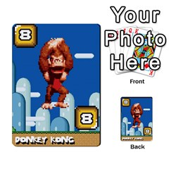 Super Mario Planning Poker Cards By Pek   Multi Purpose Cards (rectangle)   Zvte3pgqtvao   Www Artscow Com Front 20