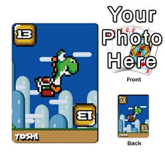 Super Mario Planning Poker Cards By Pek   Multi Purpose Cards (rectangle)   Zvte3pgqtvao   Www Artscow Com Front 21