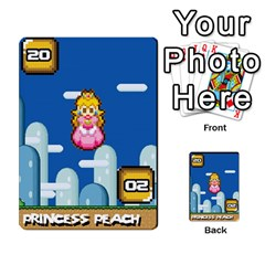 Super Mario Planning Poker Cards By Pek   Multi Purpose Cards (rectangle)   Zvte3pgqtvao   Www Artscow Com Front 22