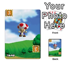 Super Mario Planning Poker Cards By Pek   Multi Purpose Cards (rectangle)   Zvte3pgqtvao   Www Artscow Com Front 31