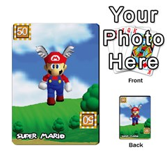 Super Mario Planning Poker Cards By Pek   Multi Purpose Cards (rectangle)   Zvte3pgqtvao   Www Artscow Com Front 37