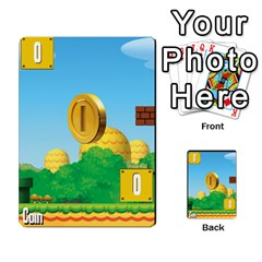 Super Mario Planning Poker Cards By Pek   Multi Purpose Cards (rectangle)   Zvte3pgqtvao   Www Artscow Com Front 40