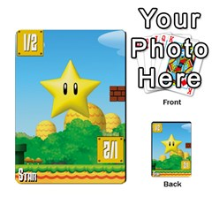 Super Mario Planning Poker Cards By Pek   Multi Purpose Cards (rectangle)   Zvte3pgqtvao   Www Artscow Com Front 41