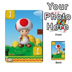 Super Mario Planning Poker Cards By Pek   Multi Purpose Cards (rectangle)   Zvte3pgqtvao   Www Artscow Com Front 44