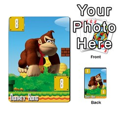 Super Mario Planning Poker Cards By Pek   Multi Purpose Cards (rectangle)   Zvte3pgqtvao   Www Artscow Com Front 46