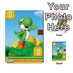 Super Mario Planning Poker Cards By Pek   Multi Purpose Cards (rectangle)   Zvte3pgqtvao   Www Artscow Com Front 47