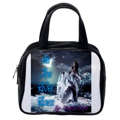 As The River Rises  Classic Handbag (one Side) by AuthorPScott