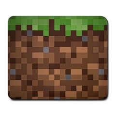 Minecraft Grass Product Large Mouse Pad (rectangle) by migrayn