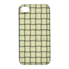Cream Weave Apple Iphone 4/4s Hardshell Case With Stand by BestCustomGiftsForYou