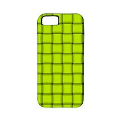 Fluorescent Yellow Weave Apple Iphone 5 Classic Hardshell Case (pc+silicone) by BestCustomGiftsForYou