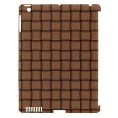 Cafe Au Lait Weave Apple Ipad 3/4 Hardshell Case (compatible With Smart Cover) by BestCustomGiftsForYou