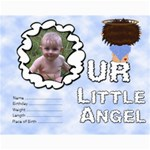 Our Little Angel Collage 11x14 - Collage 11  x 14