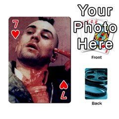 Freds Cards 1 By Frederico   Playing Cards 54 Designs   Nj614bsg90ll   Www Artscow Com Front - Heart7